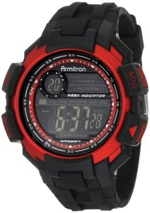 Armitron Armitron Male Sport Watch 8258RED Black Digital