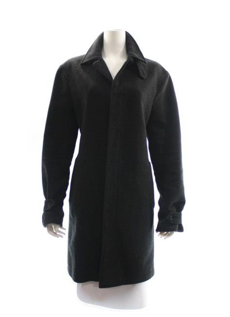 Item - Charcoal Button Up Large Coat Size 12 (L)