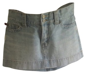 Hollister Mini Mini Skirt light denim