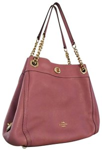 Coach Edie Turnlock Shoulder Bag