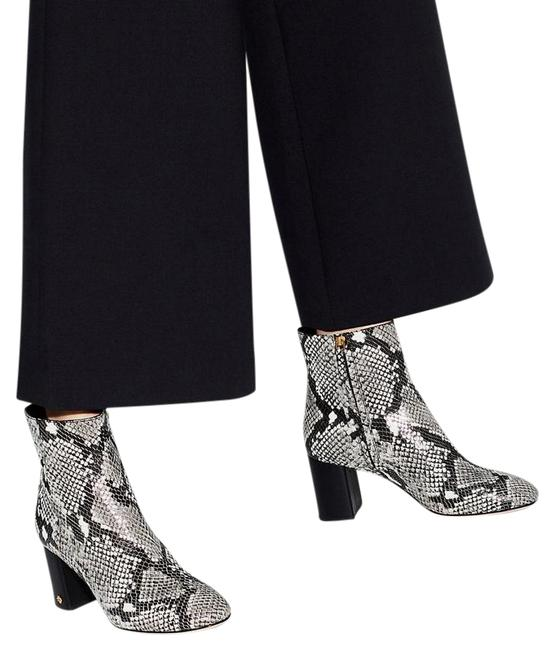 Item - Gray Black Snakeskin New Python Leather Boots/Booties Size US 9.5 Regular (M, B)