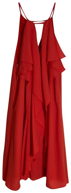Item - Coral Hattie Short Night Out Dress Size 4 (S)