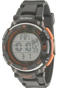 Armitron Armitron Male Sport Watch 8254ORG Grey Digital