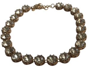 J.Crew NWOT JCrew Faceted Crystal Statement Necklace
