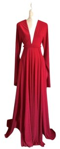Maroon Maxi Dress by Abyss by Abby