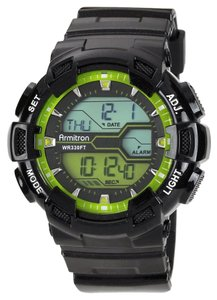 Armitron Armitron Male Sport Watch 8246LGN Black Digital
