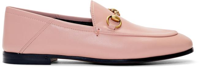 Item - Pink Mf Brixton Collapsible-heel Leather Loafers Flats Size EU 38 (Approx. US 8) Regular (M, B)
