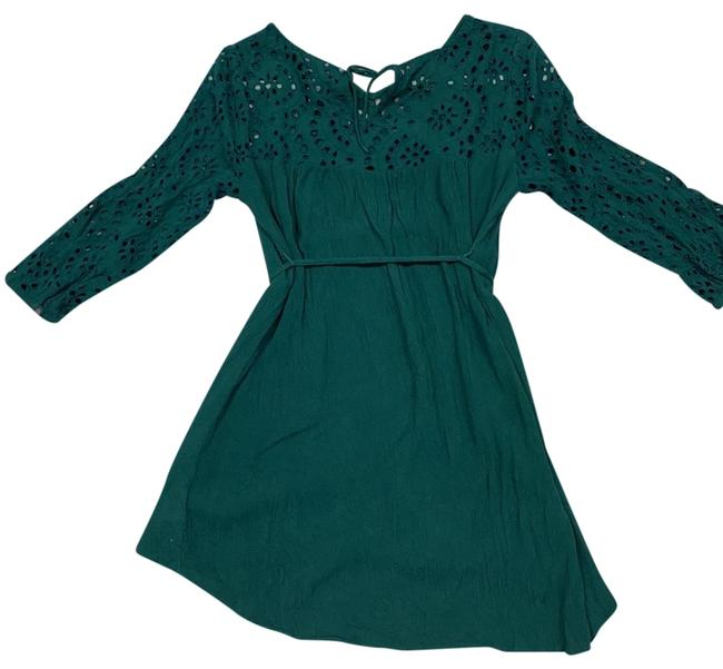 Item - Green Blouse Maternity Top Size 8 (M)