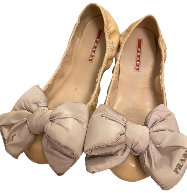 Item - Nude / Blush Vernice Bow Flats Sneakers Size US 8.5 Regular (M, B)