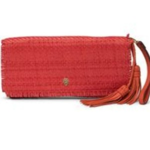 Tommy Bahama Red Clutch