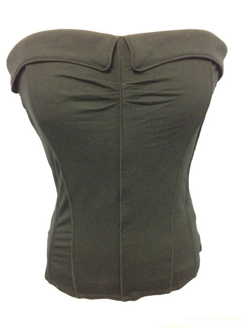 Item - Seamed Strapless Bustier Top