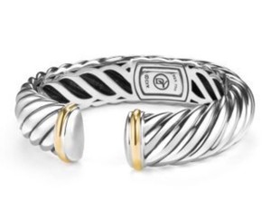 David Yurman David Yurman 15mm Sculpted Waverly Cable Bracelet