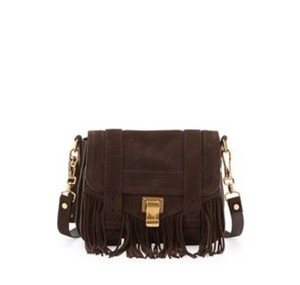 Proenza Schouler Suede Mini Cross Body Bag