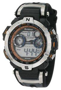 Armitron Armitron Male Sport Watch 8231ORBK Grey Digital