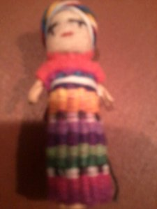 Handmade Miniature Doll - Vintage (free Shipping!!)