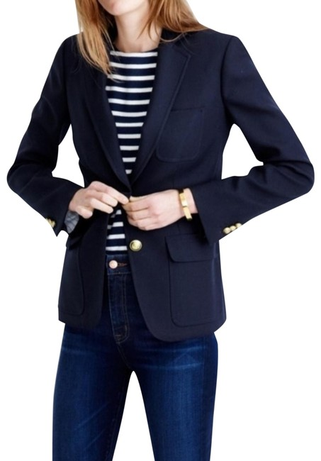 Item - Navy with Gold Buttons 28639 Blazer Size 0 (XS)