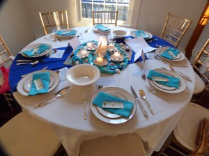 Royal Blue Tablecloths And Table Runners