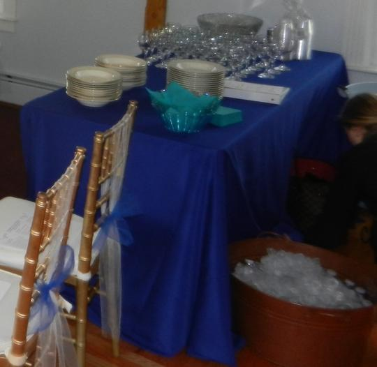 Royal Blue Table Runners And Tablecloth
