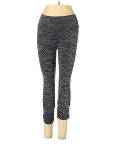NUX Mid Rise Seamless Crop Ruched Leggings