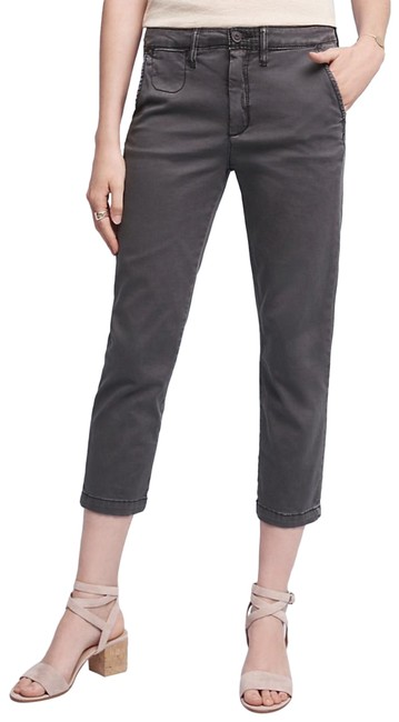 Item - Dark Charcoal Gray Slim Pants Size 2 (XS, 26)