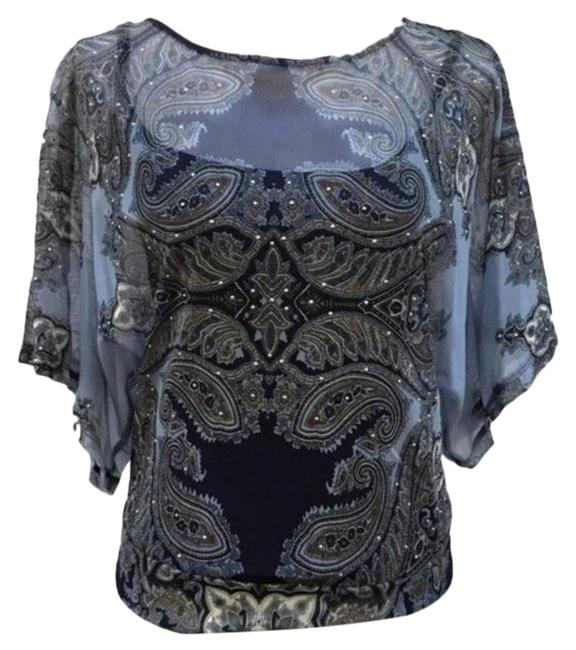 Preload https://img-static.tradesy.com/item/27165060/inc-international-concepts-petite-paisley-print-sheer-size-p-blue-top-0-1-650-650.jpg