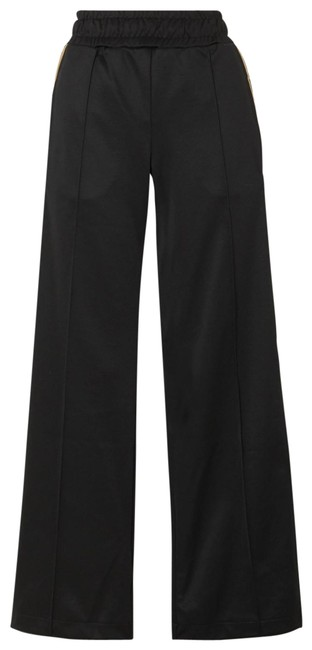 Item - Jersey It 40 Rama Jacquard-trimmed Wide-leg Track Pants Size 4 (S, 27)