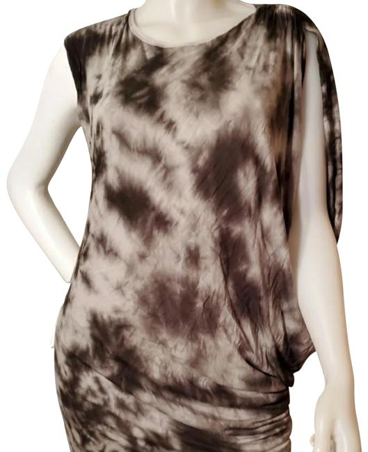 Preload https://img-static.tradesy.com/item/27165106/young-fabulous-and-broke-black-graygrey-white-tie-dye-short-casual-dress-size-8-m-0-4-650-650.jpg