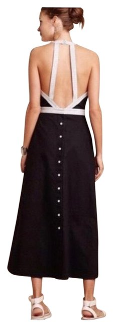 Preload https://img-static.tradesy.com/item/27165176/anthropologie-black-maeve-open-button-down-mid-length-casual-maxi-dress-size-14-l-0-2-650-650.jpg
