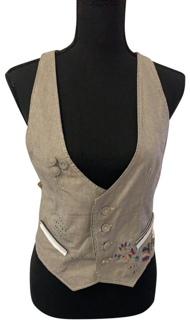 Item - Blue/White/Yellow/Green/Purple/Silver/Orange/Red Vest Size 8 (M)