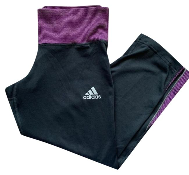 Item - Gray Purple Climalite Cropped Activewear Bottoms Size 6 (S, 28)