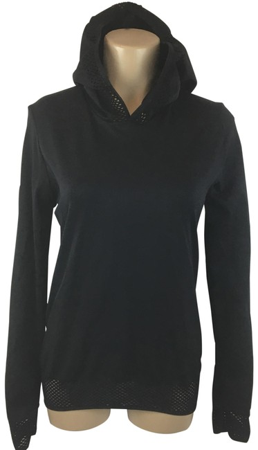 Item - Black Megan Netted Pullover Activewear Top Size 12 (L)