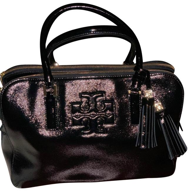 Tory Burch Black Satchel Tory Burch Black Satchel Image 1