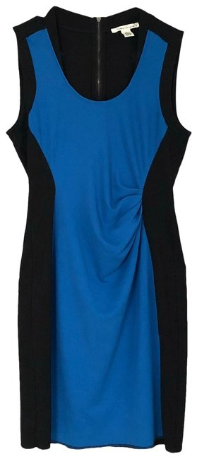 Preload https://img-static.tradesy.com/item/27165681/kenneth-cole-black-and-blue-color-block-mid-length-workoffice-dress-size-10-m-0-1-650-650.jpg