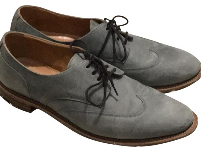 Poetry Grey Brogues Flats Size US 7 Regular (M, B) Poetry Grey Brogues Flats Size US 7 Regular (M, B) Image 1