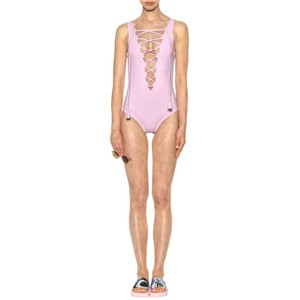 Karla Colletto Entwined Laceup Swimsuit