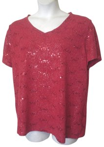 White Stag Top Red