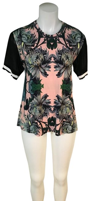 ASOS W Maternity Floral W/Mesh Sleeves Sz8 Tee Shirt Size 8 (M) ASOS W Maternity Floral W/Mesh Sleeves Sz8 Tee Shirt Size 8 (M) Image 1