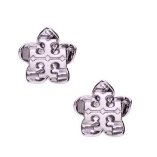 Item - Silver * Cecily Flower Earrings