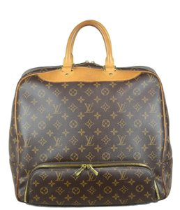 Louis Vuitton Lv Evasion Speedy Neverfull Tote in Brown