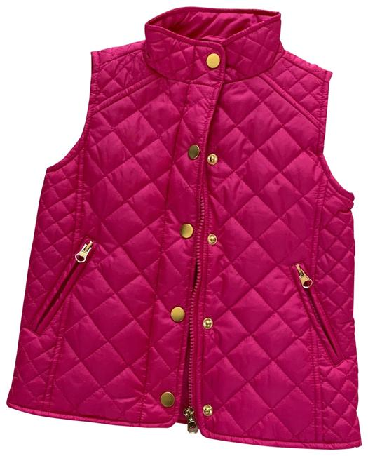 Item - Pink and Gold Nwot Quilted Children's 5 Vest Size 00 (XXS)