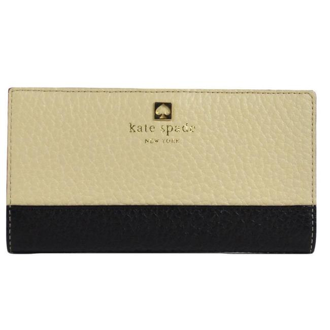 Item - Cream Black Stacy Southpoint Avenue Skinny Credit Card Wallet