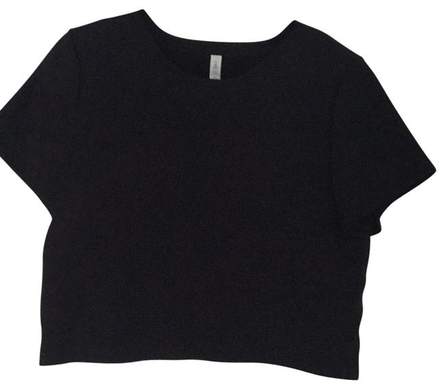 Item - Black Unknown Activewear Top Size 12 (L)