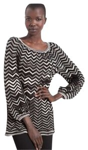 M Missoni Chevron Zigzag Cotton Blend Tunic