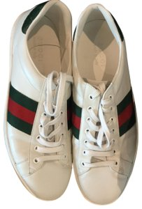 Gucci white and Gucci red and green Athletic