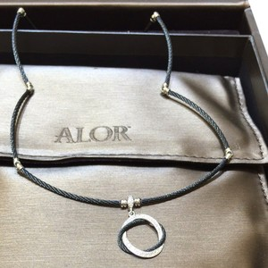 Alorna CHARRIOL Celtic Noir Diamond Necklace