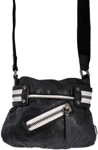 L.A.M.B. Leather Quilted Cross Body Bag