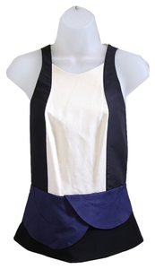 Diane von Furstenberg Top Black / Cream