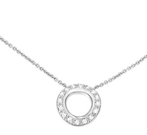 Christofle White Gold and Diamond Necklace
