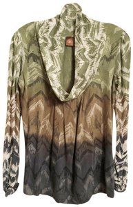 Language Knit Anthropologie New Ombre Top Multicolor