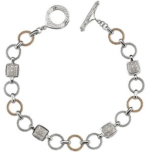 Charriol Charriol Celtic Classique Diamond Bracelet